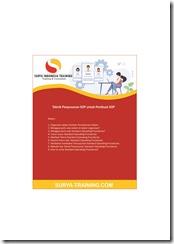 pelatihan Teknis Standard Operating Procedures online