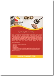 pelatihan teknik menyusun dokumen hukum online